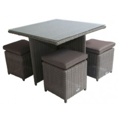 DE Notsob Outdoor Set + Cushion