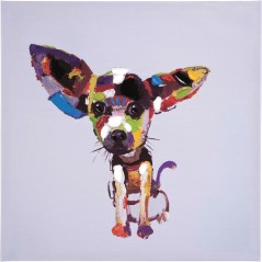 Oil Painting Chihuahua 50x50cm