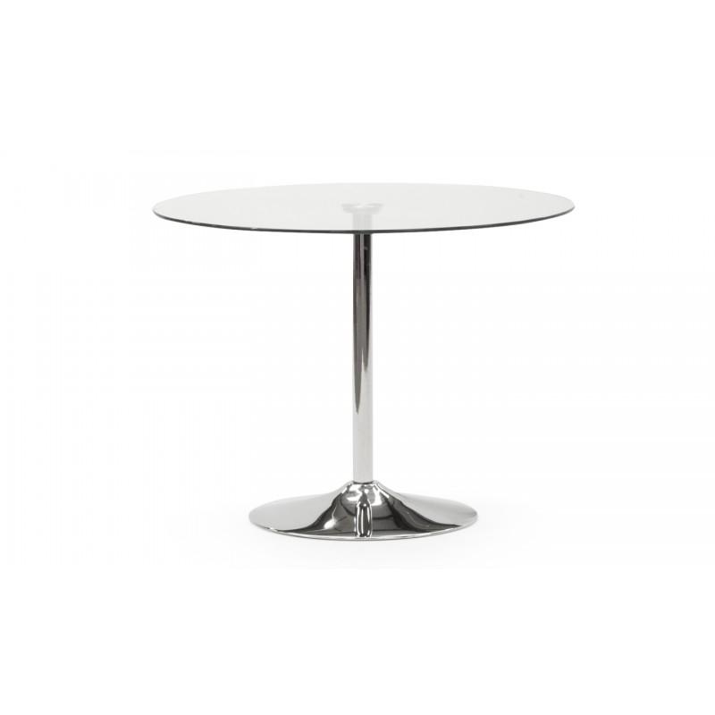 VL Orbit Dining Table 1000 - Clear