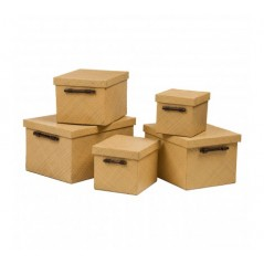 Pandanus Storage Box Natural