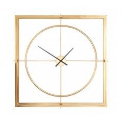Trinity Wall Clock Gold