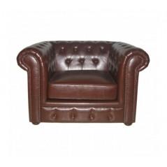Davis Chesterfield Chair Brown