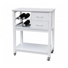 Taylor Kitchen Trolley White