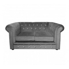 Evans Chesterfield Sofa Grey