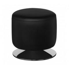 Cylinder Stool Black