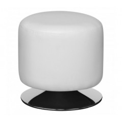 Cylinder Stool White