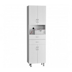Aspen Cabinet White Double