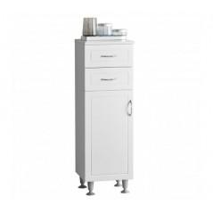Aspen Cabinet White Short