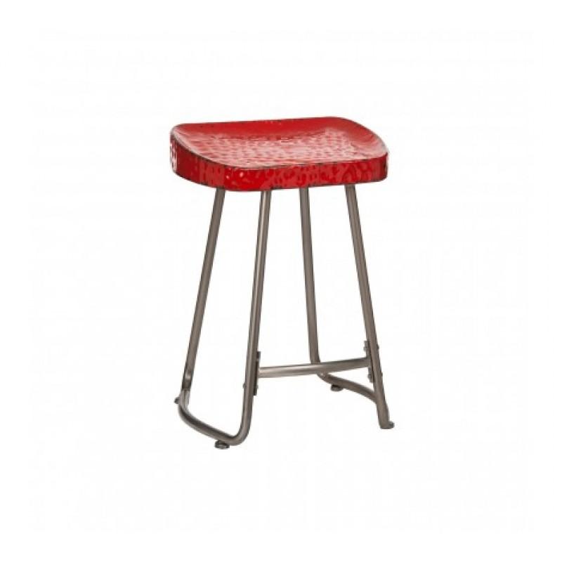 Artisan Stool Red