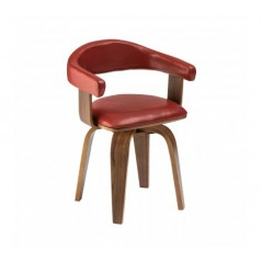 Bentwood Chair Red