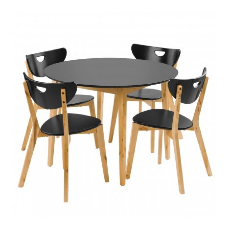 Fiesta Dining Set Black