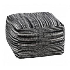 Bosie Pouffe Black Stripe