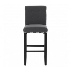 Collins Bar Chair Grey