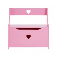Smith Kids Storage Box/Seat Pink