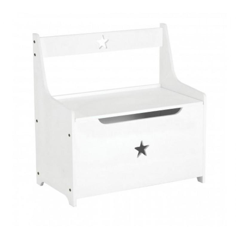 Smith Kids Storage Box/Seat White