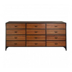 Bell Drawer Unit Natural