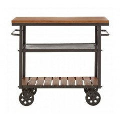 Bell Kitchen Trolley Natural