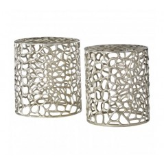Cooper Stool Silver