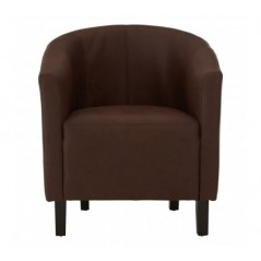 James Tub Chair Brown