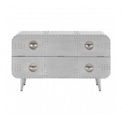 Avro Drawer Chest Bulky Silver