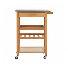 Williams Kitchen Trolley Natural