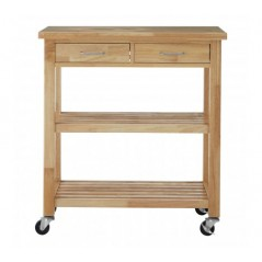 Smith Kitchen Trolley Natural