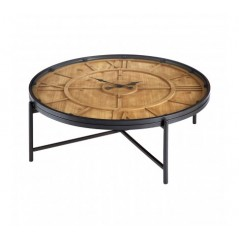 Trinity Coffee Table Clock Natural