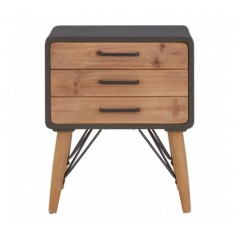 Trinity Bedside Table Natural