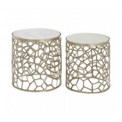 Cooper Side Table Silver