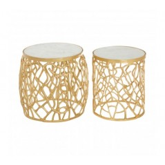 Cooper Side Table Gold