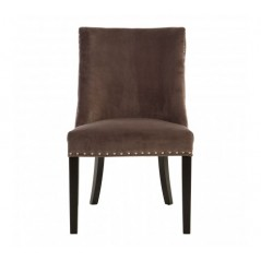 Curly Dining Chair Grey