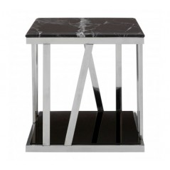 Ackley Side Table Black