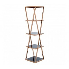 Ackley Shelf Rose Gold