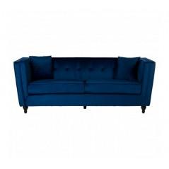 Ferris 3 Seat Sofa Blue