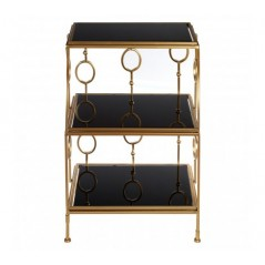 Faiza Shelf O Black