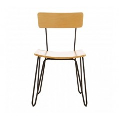 District Dining Chair Curvy Yellow