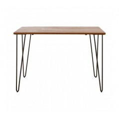 District Dining Table Rectangular Brown