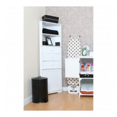 Johnson Corner Unit White