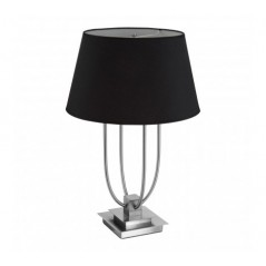 Regents Park Table Lamp Black (EU Plug)