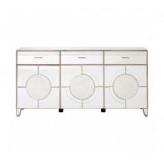 Kensington Cabinet Long Silver