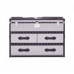Kensington 3 Drawer Cabinet Black