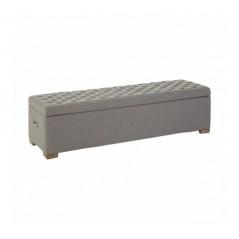 Kensington Bench Ottoman Grey