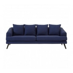 Mylo 3 Seat Sofa Blue