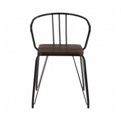 District Arm Chair Black