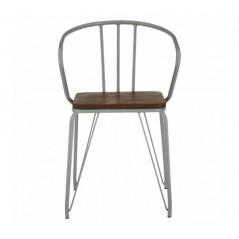 District Arm Chair Grey