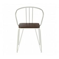 District Arm Chair White
