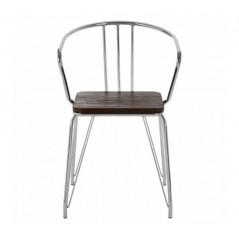District Arm Chair Silver
