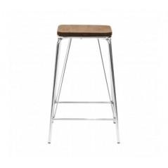 District Bar Chair Brown