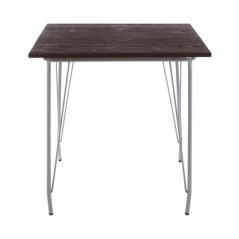 District Dining Table Square Grey