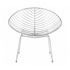 District Chair Leaf Silver